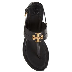 Tory Burch Claire Flat Thong Sandal - Perfect Blk